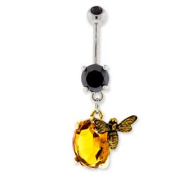 BEE BELLY RING