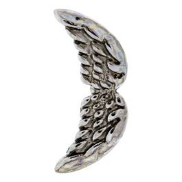 SILVER CURVING WINGS