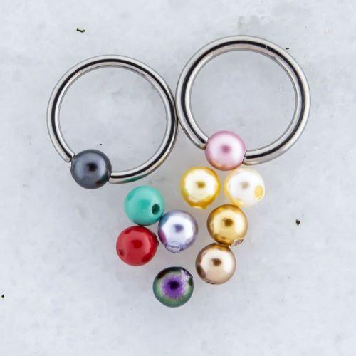 Swarovski® Pearls Captive Bead 3mm