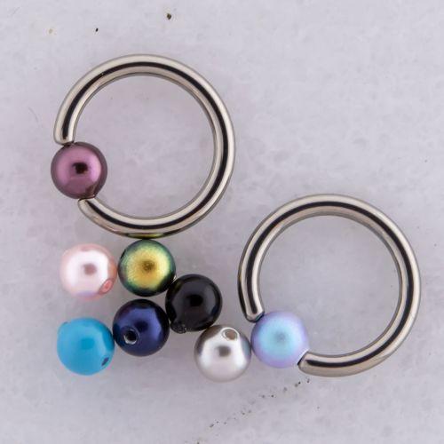 Swarovski® Pearls Captive Bead 4mm