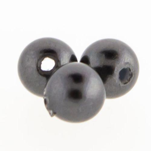 Swarovski® Pearls Captive Bead-3MM-BLACK PEARL