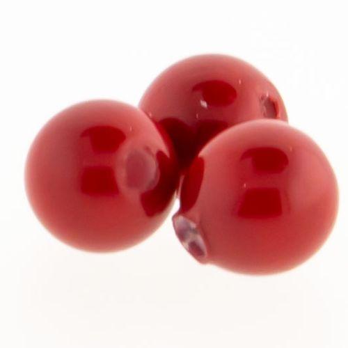 Swarovski® Pearls Captive Bead-3MM-RED CORAL PEARL