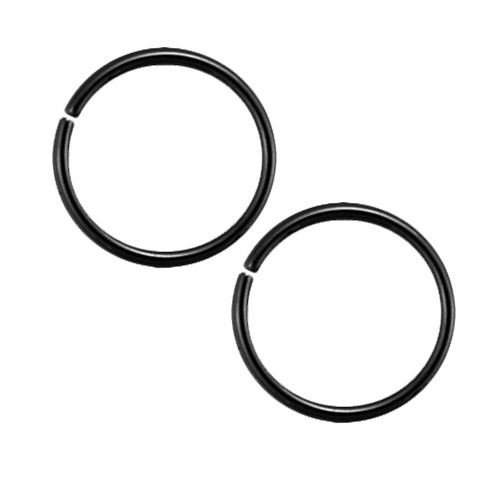 BLACK SEAMLESS RINGS