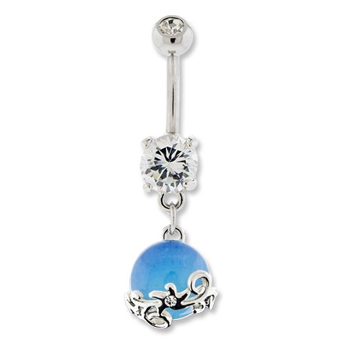 OPALITE BELLY RING