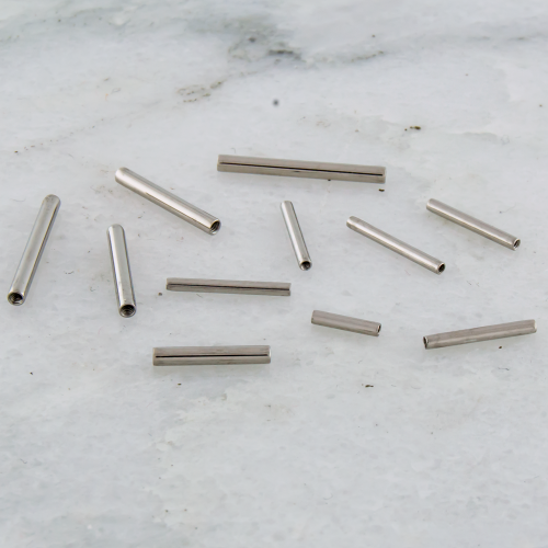 10G INTERNALLY THEADED STEEL BARBELL- POST ONLY