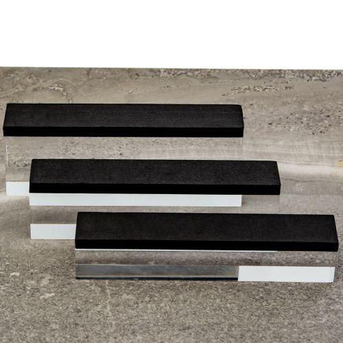 ACRYLIC PLAIN DISPLAY BLOCKS (SET OF 3)