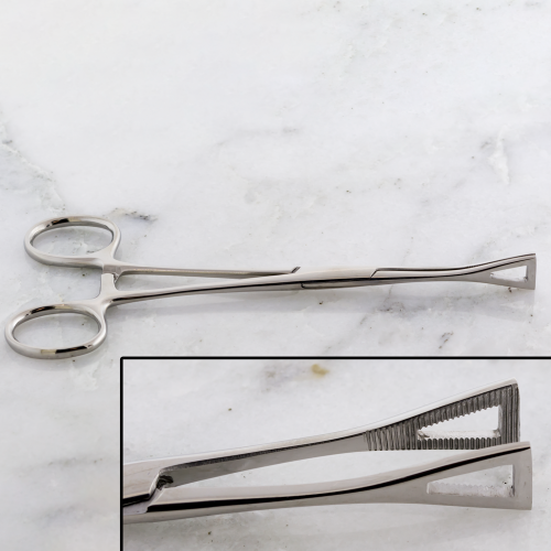FORCEPS PENINGTON NON SLOTTED WITH RATCHET
