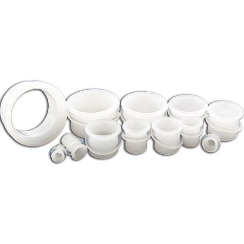 BOROSILICATE GLASS WHITE TUNNEL