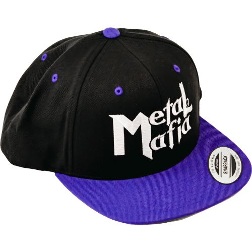 METAL MAFIA YP Classics - Flat Bill Snapback Cap -PURPLE