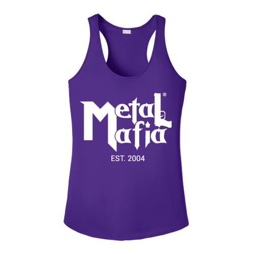 Ladies sport tek Metal Mafia racerback tank