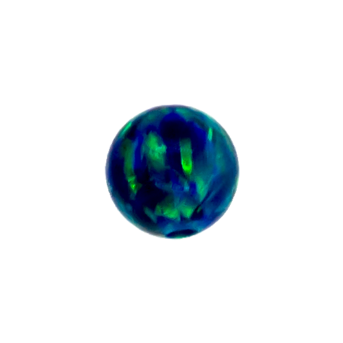 SYNTHETIC BLACK OPAL 3MM CAPTIVE BEAD REPLACEMENT BALLS. SOLD SINGLY AND CAN BE USED WITH 20G-10G...