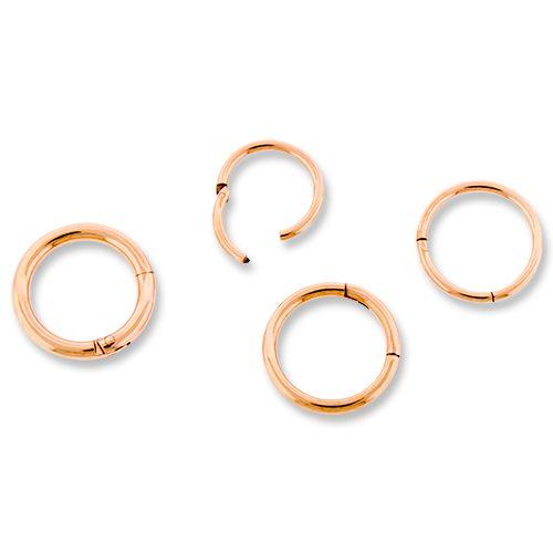ROSE GOLD HINGED SEGMENT RING