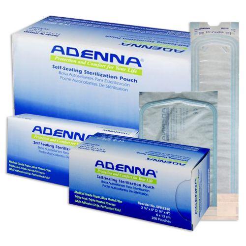 ADENNA® SELF-SEALING STERILIZATION POUCHES