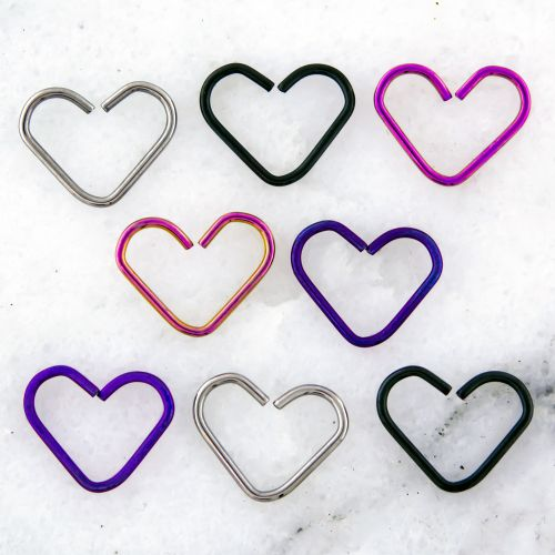 STEEL HEART SEAMLESS RINGS