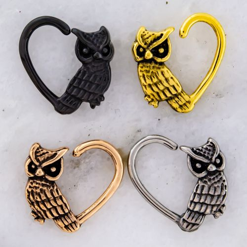 16G OWL HEART SEAMLESS