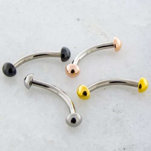 16G STEEL CURVE W/ DOMES