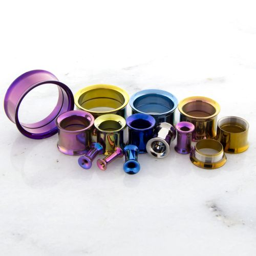 TITANIUM INTERNALLY THREADED TUNNELS