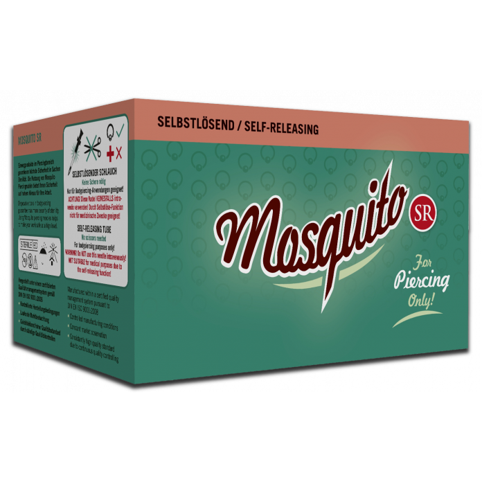 MOSQUITO PROFESSIONAL PIERCING NEEDLES